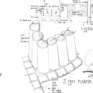 Central Edinburgh Play Area Working Drawing